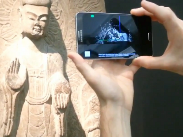 An application that turns a smartphone into a 3D scanner2