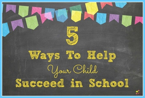 Ways You Can Help Your Children Succeed in School
