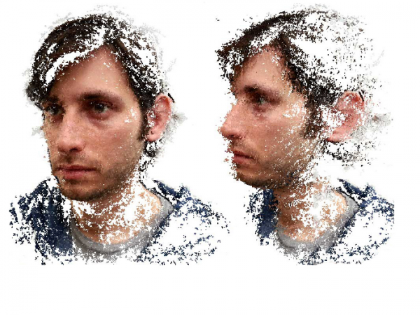 An application that turns a smartphone into a 3D scanner