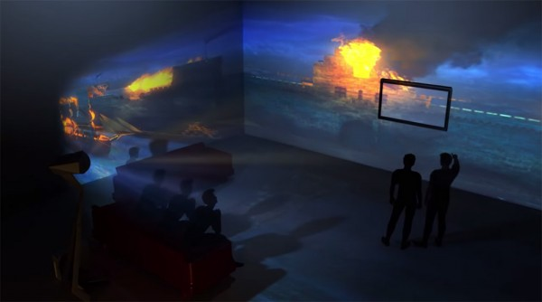 Immersive 3d Projection Mapping
