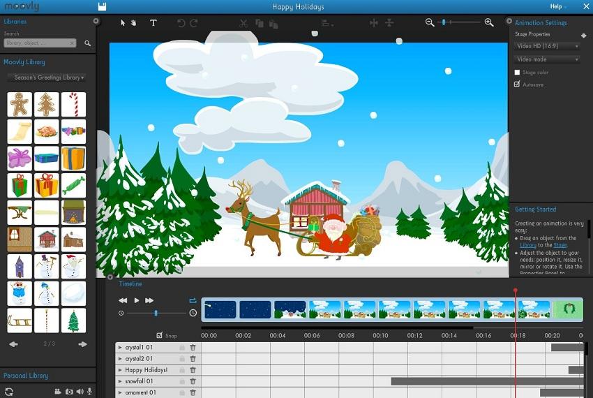 make animated videos